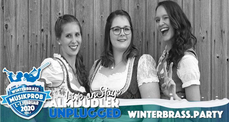 Almdudler unplugged Winterbrass