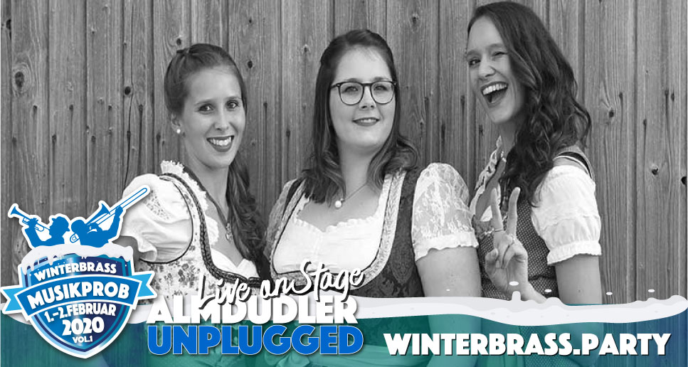 Almdudler unplugged Winterbrass